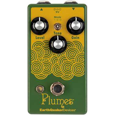 EarthQuaker Devices Plumes Small Signal Shredder Overdrive