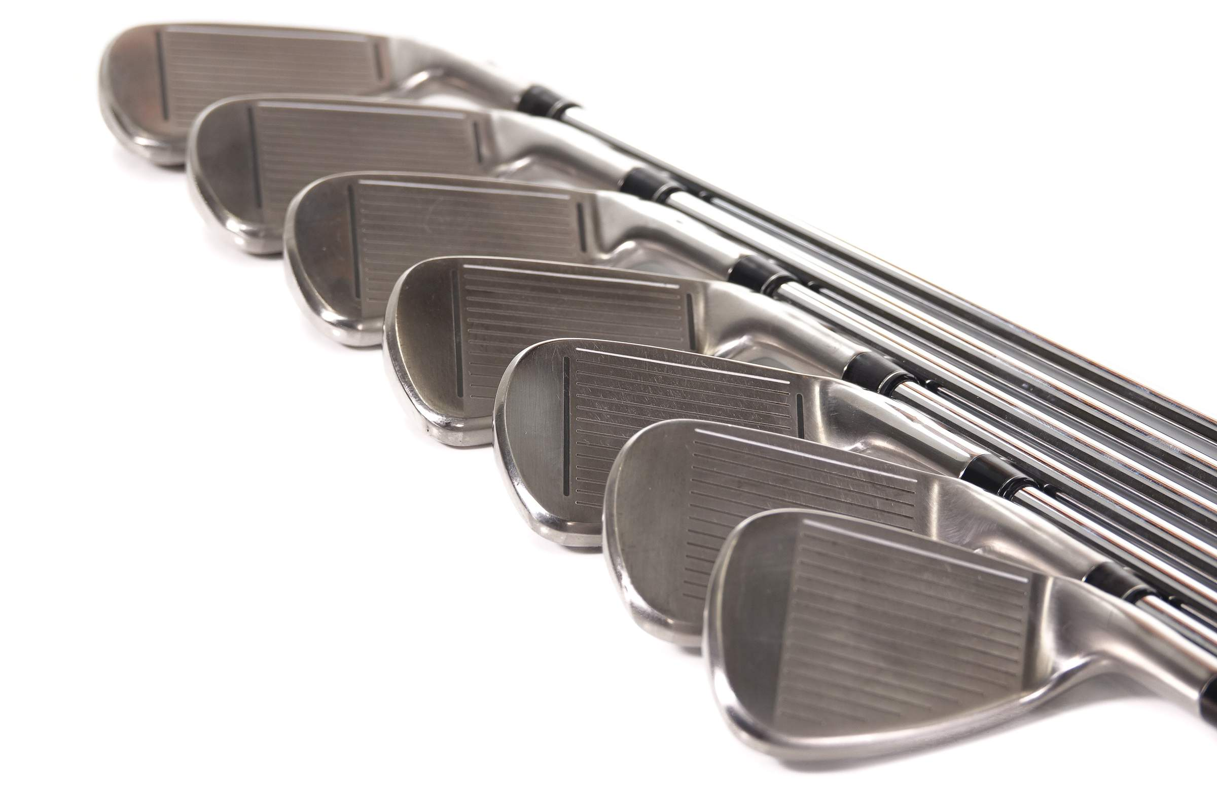 TaylorMade M3 Irons Steel Shaft 4-PW - Left Hand, 36