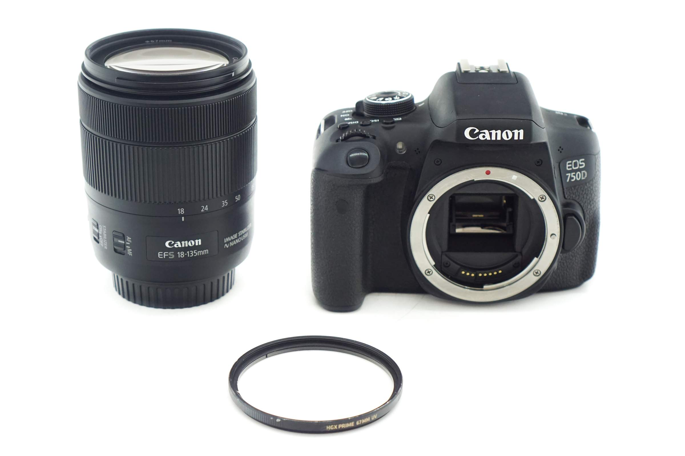 Canon EOS 750D - Single Lens Kit