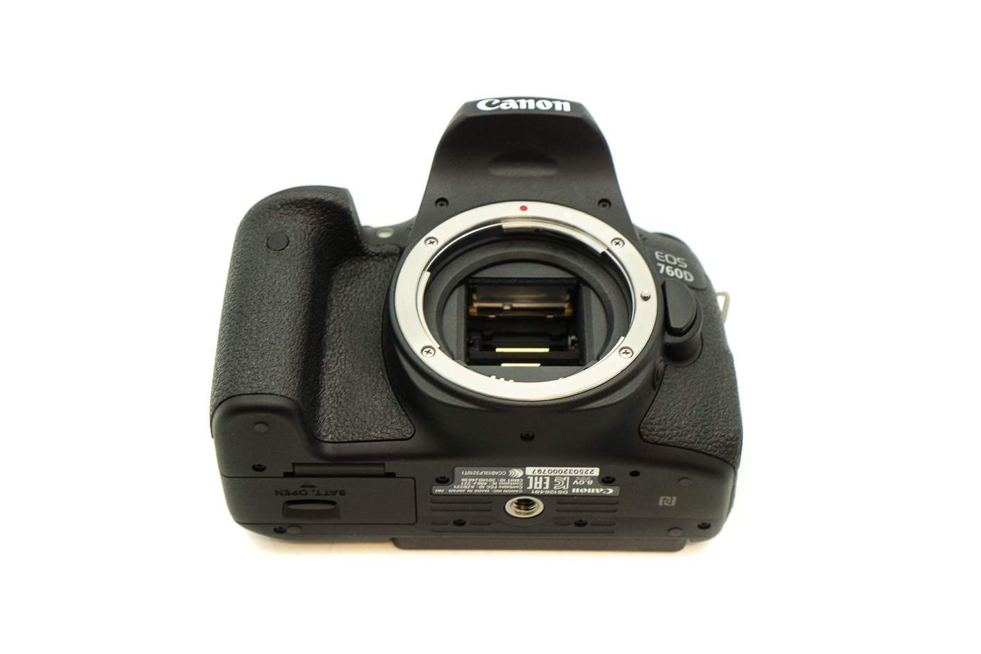 Canon Eos 760d Body Only Rent From 30 Month Wifi Next