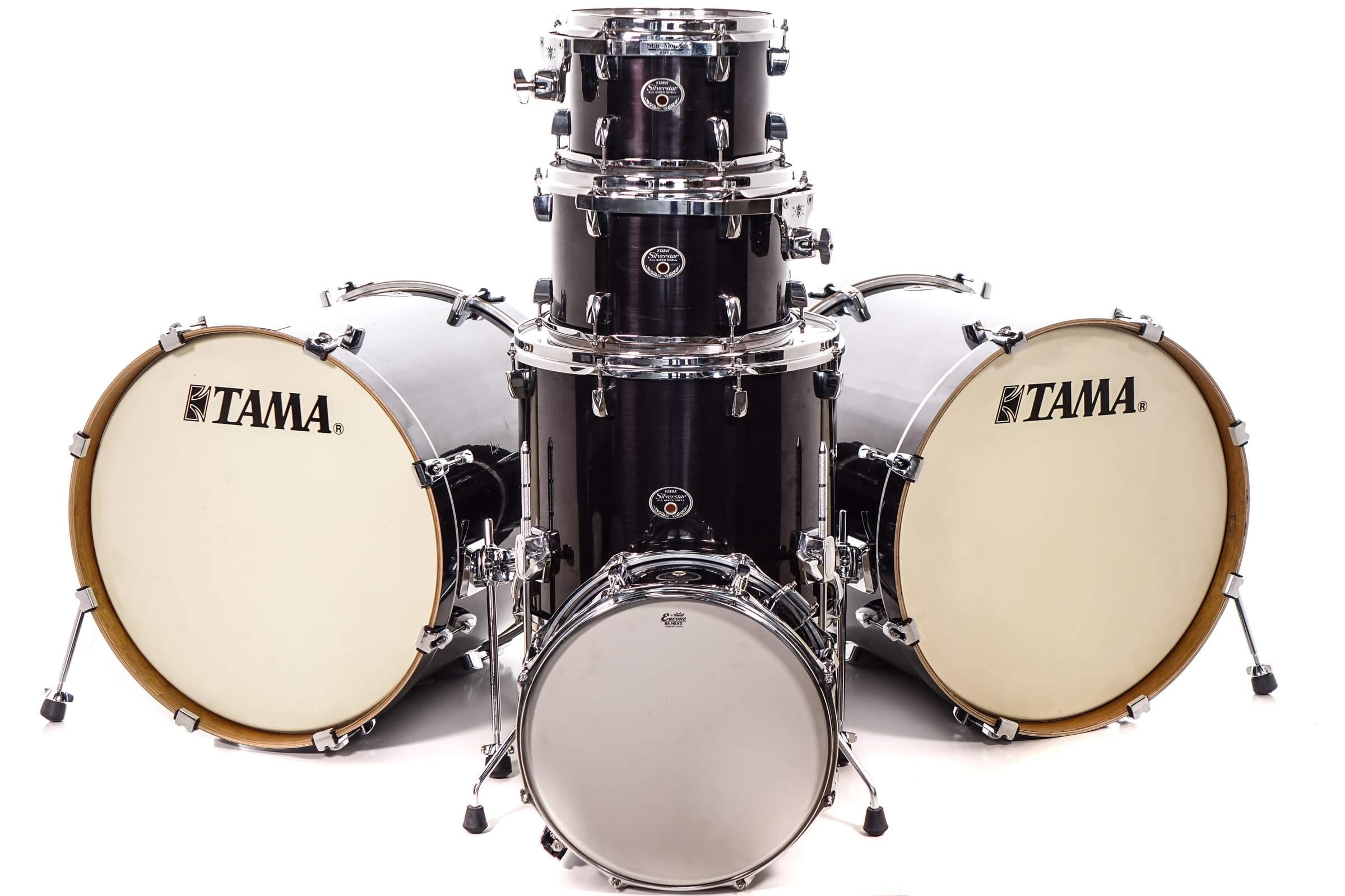 1c2488ca634b Tama Silverstar Double Bass Kit - Tama Silverstar Double Bass Kit ...