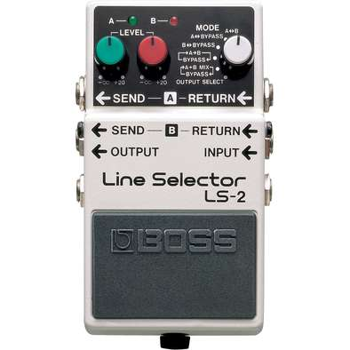 Boss LS2 Line Selector Pedal