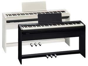 Roland Fp30 Fp30 Bundle White Includes Ksc 70 Stand Kpd 70 Pedal Unit Rent From 67 Month