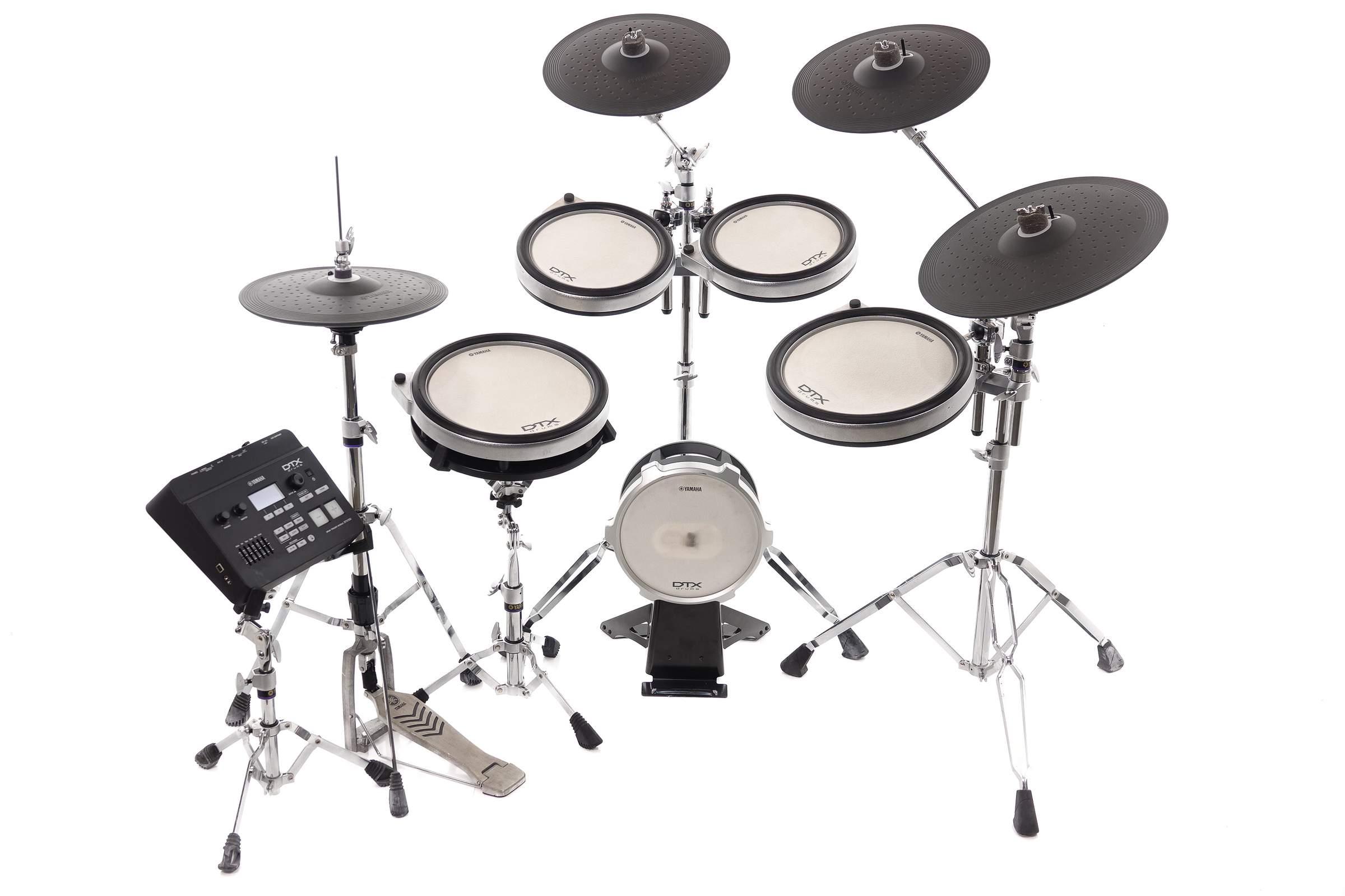 Yamaha DTX760K Electronic Drum Kit - Yamaha DTX760HWK