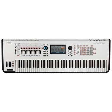 Yamaha Montage 7 WH Synthesizer