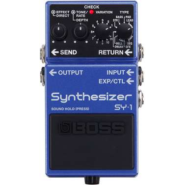 Boss SY1 Polyphonic Synthesizer Pedal