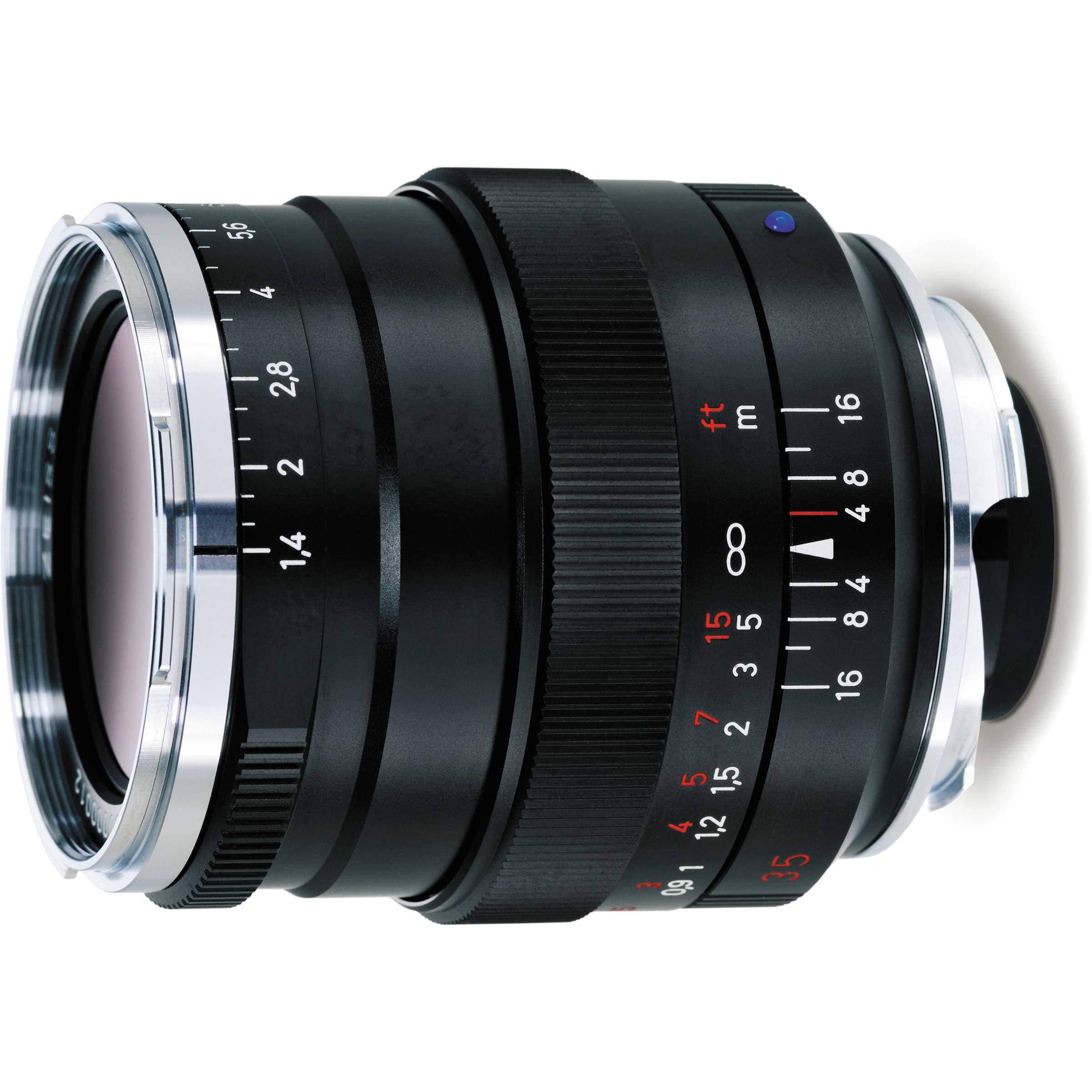 Zeiss Distagon T* 35mm f1 4 ZM - Black