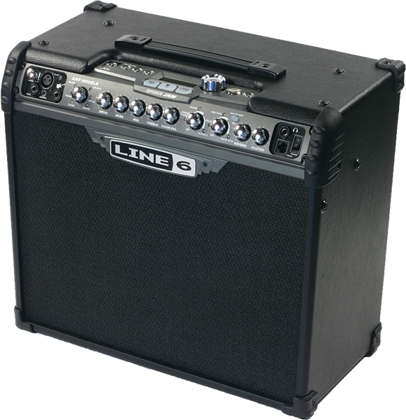 Line 6 Spider Jam guitar amp for practicing and jamming with guitar and effects modeling