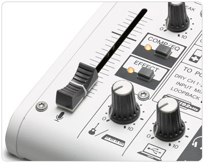 Yamaha USB Audio Interface AG03: Control
