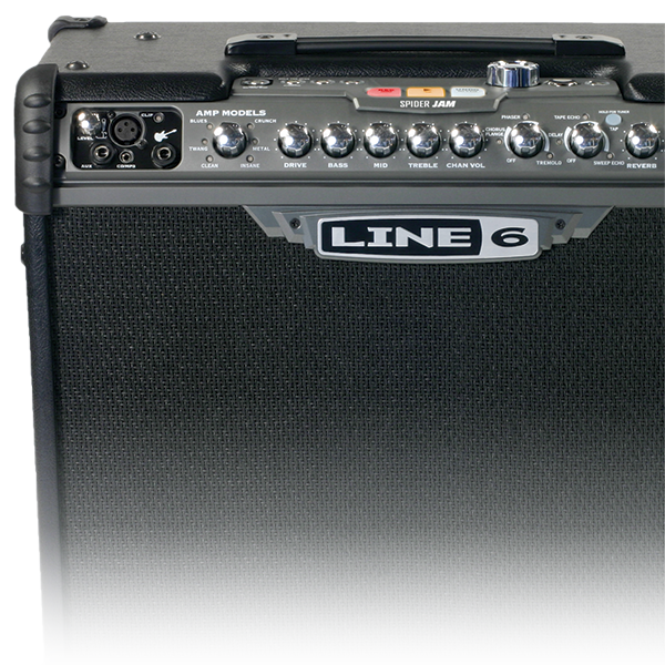 Line 6 Spider Jam guitar amp with amp and effects modeling for jamming and practicing
